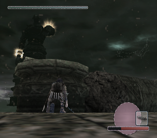 Shadow of the Colossus PlayStation 2 Cower in fear, mortal, and behold the splendor of the most powerful colossus of all!