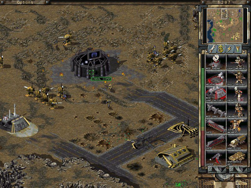 Command & Conquer: Tiberian Sun - Firestorm Windows CABAL now has his own core of intelligence.