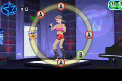 American Idol Game Boy Advance Here is one of your opponents in the replay