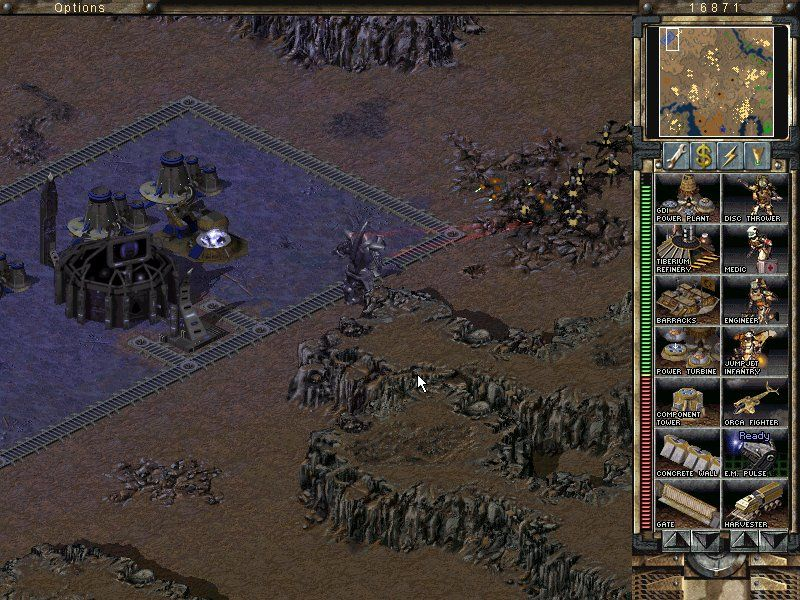 Command & Conquer: Tiberian Sun - Firestorm Windows A final CABAL's unit will wipe out these 20 cyborg-reapers in a split second.