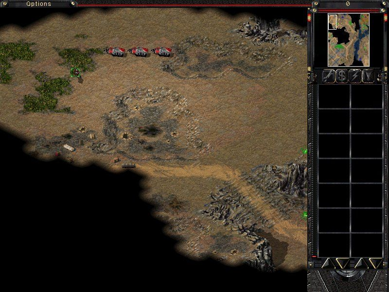 Command & Conquer: Tiberian Sun - Firestorm Windows Use Toxic Soldiers to 'convince' civilians to change sides.