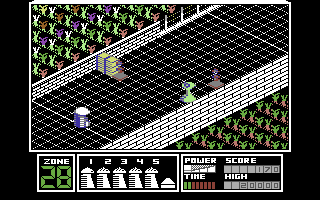 Highway Encounter Commodore 64 You've moved on ahead.