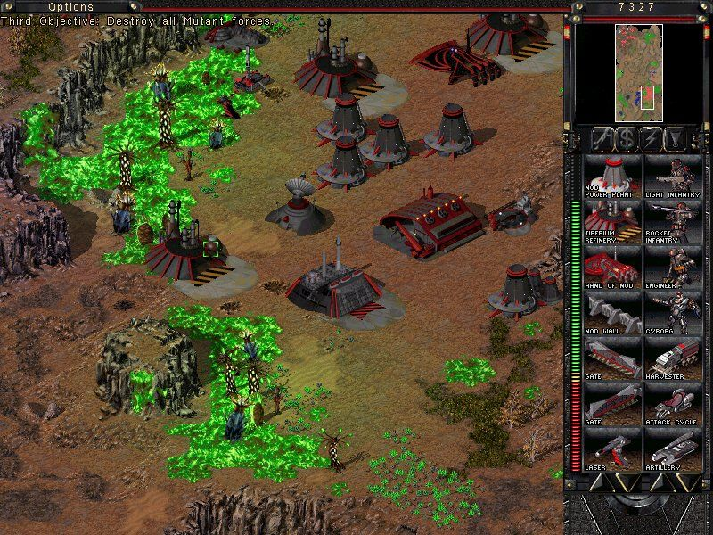 Command & Conquer: Tiberian Sun - Firestorm Windows Mutant forces are now stronger then before. After all, there's helluva lot more Tiberium now, with all these lifeforms around.