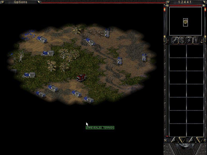 Command & Conquer: Tiberian Sun - Firestorm Windows Take out CABAL's Harvester Factories. The unit in the center is Nod moving Tank Factory.