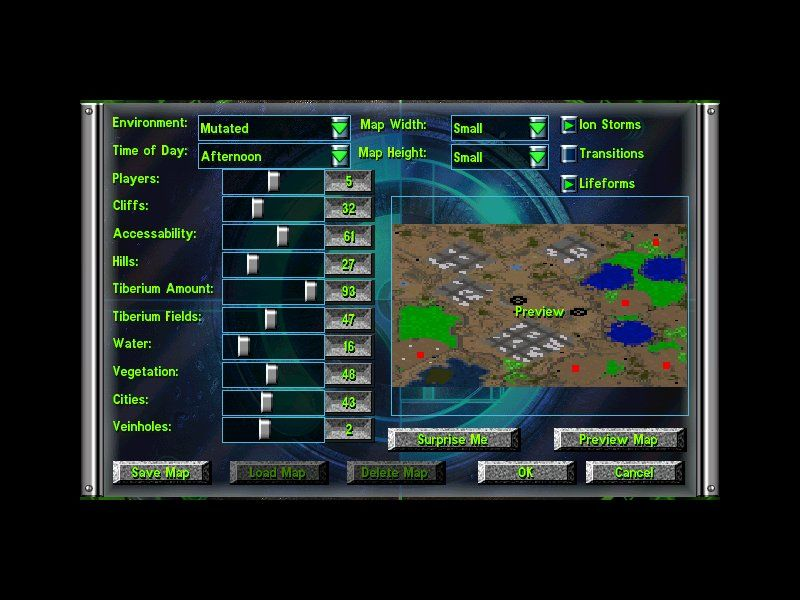 Command & Conquer: Tiberian Sun - Firestorm Windows Most of all, Firestorm map generator is far more advanced then the one from original Tiberian Sun.