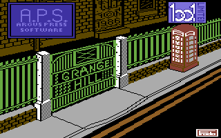 Grange Hill Commodore 64 Loading Screen.