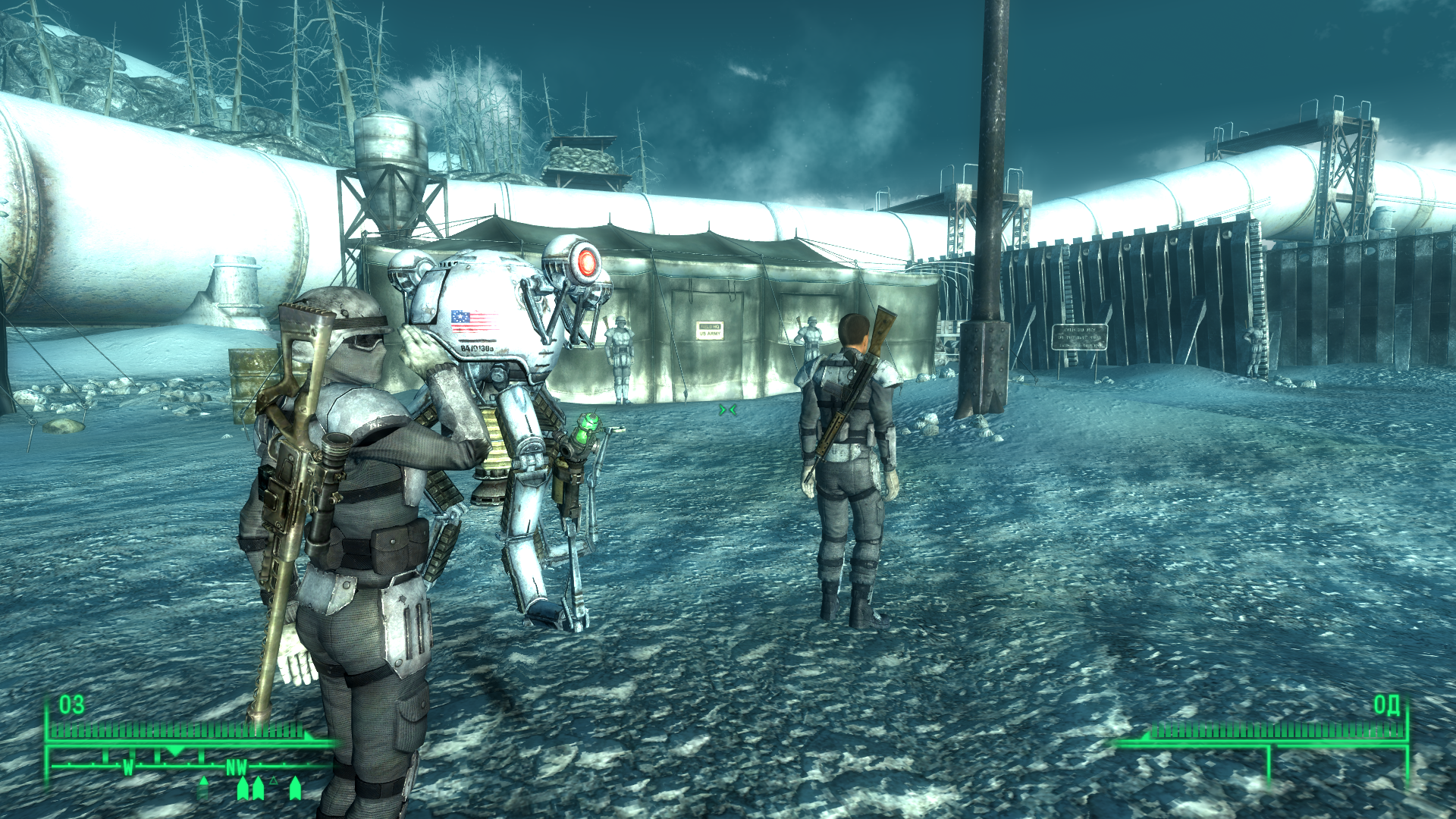 Fallout 3: Operation: Anchorage Windows This is my Anchorage attack team. Not much, not much...