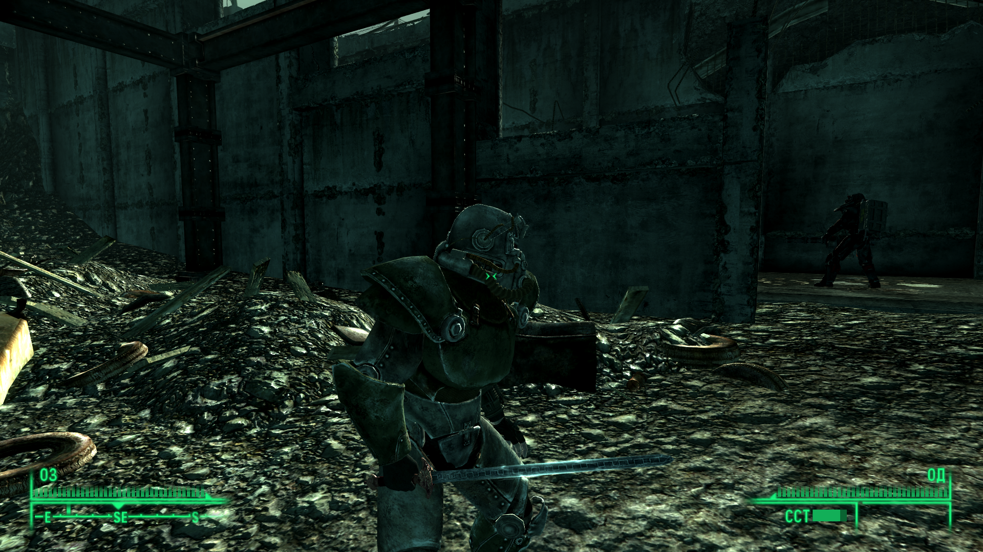 Fallout 3: Operation: Anchorage Windows Another bonus item - energy sword that once belonged to the Chinese General