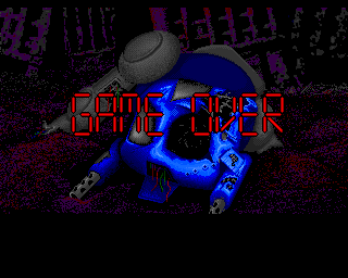Walker Amiga Game Over