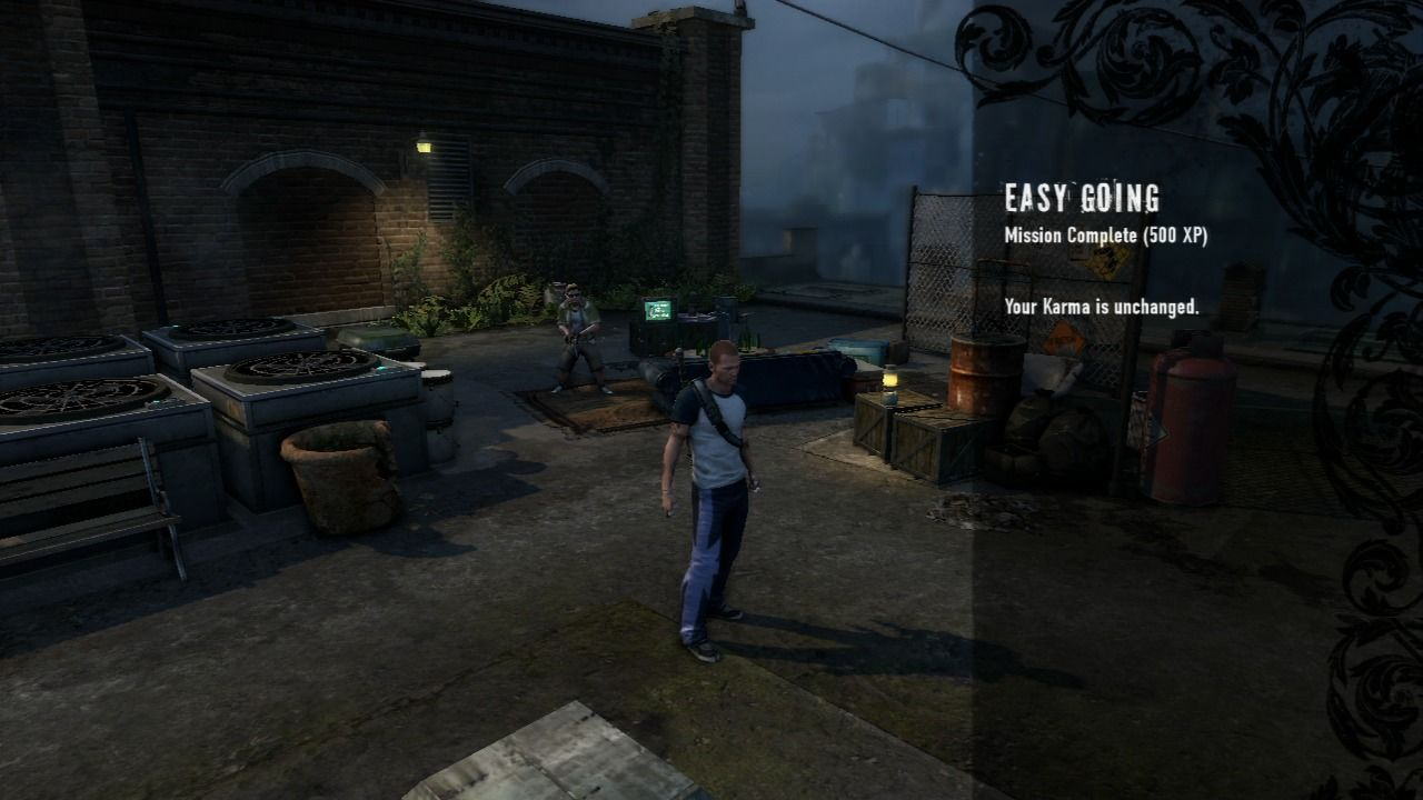 inFAMOUS 2 PlayStation 3 Every mission rewards you with experience points you can use to purchase new powers.