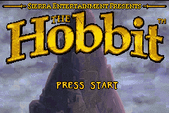 The Hobbit Game Boy Advance Welcome to The Hobbit