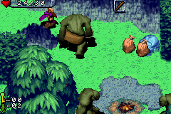 The Hobbit Game Boy Advance The trolls are capturing all the dwarves and putting them in sacks for dinner