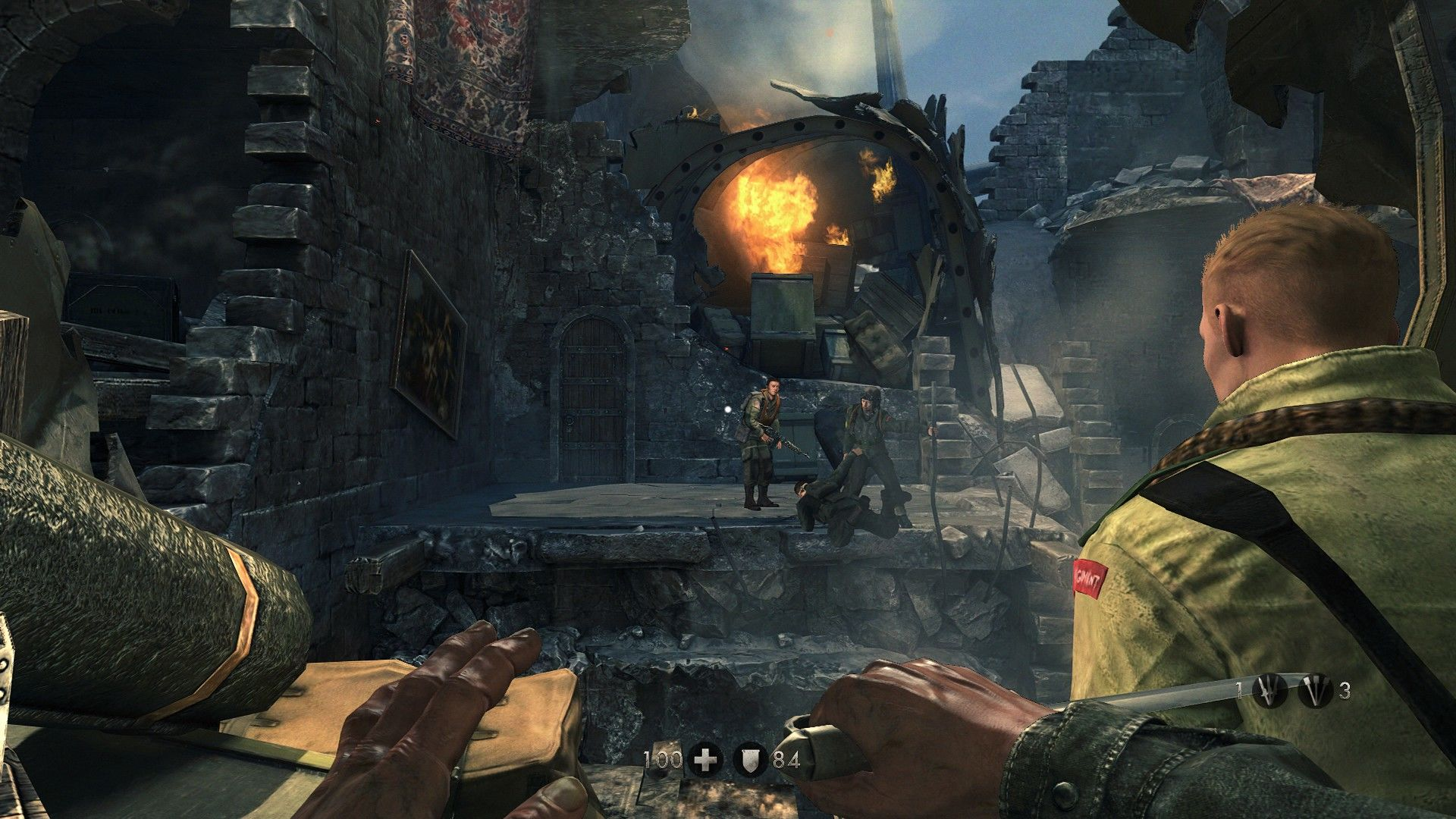 wolfenstein the new order screenshots for windows mobygames