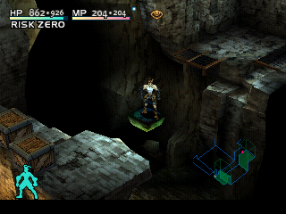 Vagrant Story PlayStation You'll ride such platforms a lot in the game