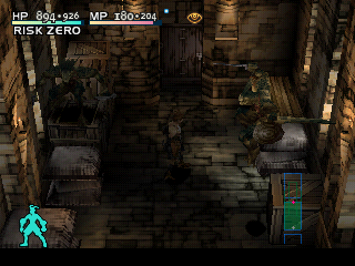 Vagrant Story PlayStation More lizard action: crazy lizards jumping around in a cellar!