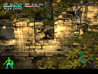 Vagrant Story PlayStation Back to the town! This time, there is a battle on a bridge