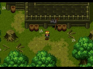 Wild Arms PlayStation In this secluded area, the MONKEY serves as a save point!..