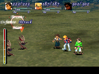 Xenogears screenshots for playstation mobygames early world map on foot random battle gumiabroncs Images