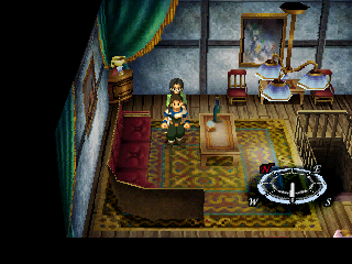 Xenogears PlayStation Lavishly decorated rooms are not uncommon in this game