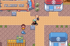 Pokémon Emerald Version Game Boy Advance One of the more distant towns