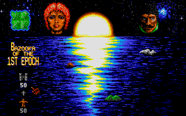 Mega lo Mania Atari ST Number of men to assign to island.
