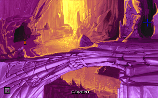 The Dig DOS To complete our purple collection, how about these beautiful caverns?