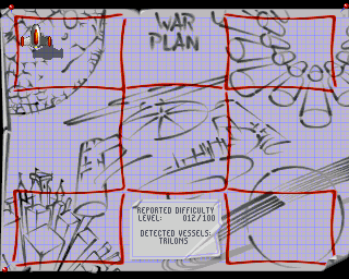 Stardust Amiga War Plan (at the start)
