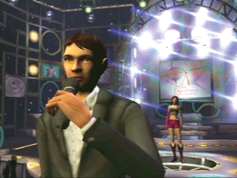 Fame Academy: Dance Edition PlayStation 2 Introduction of the first stage