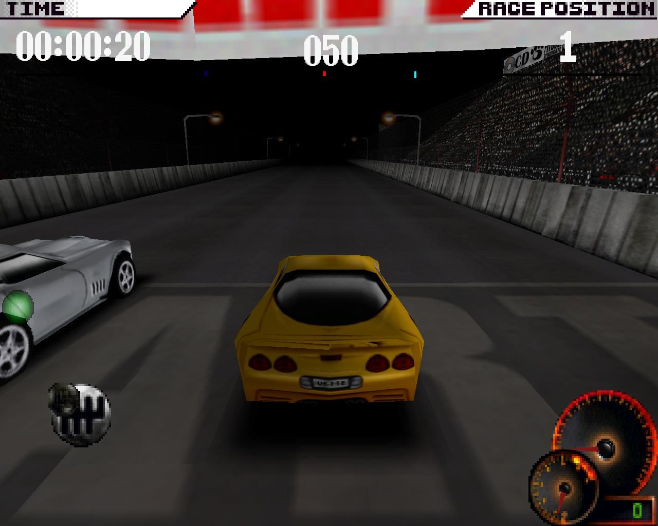 Test Drive 4 Windows New versus old... (3dfx Glide mode)