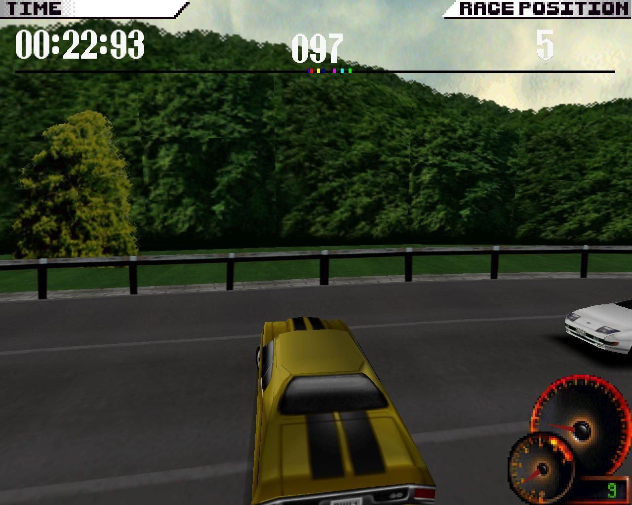 Test Drive 4 Windows ...and you lose control. (3dfx Glide mode)