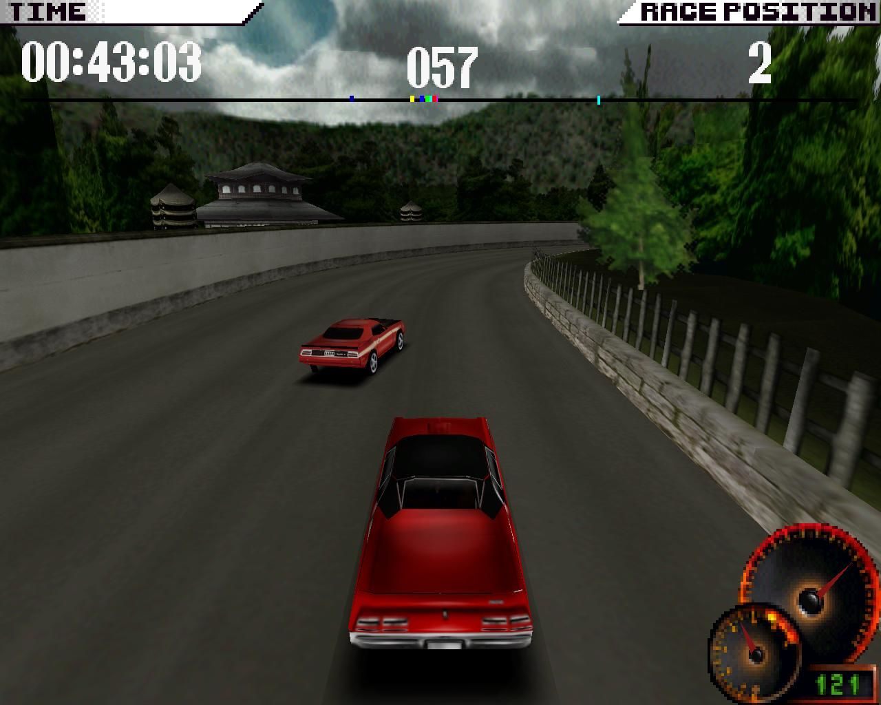 Test Drive 4 Windows Countryside (3dfx Glide mode)