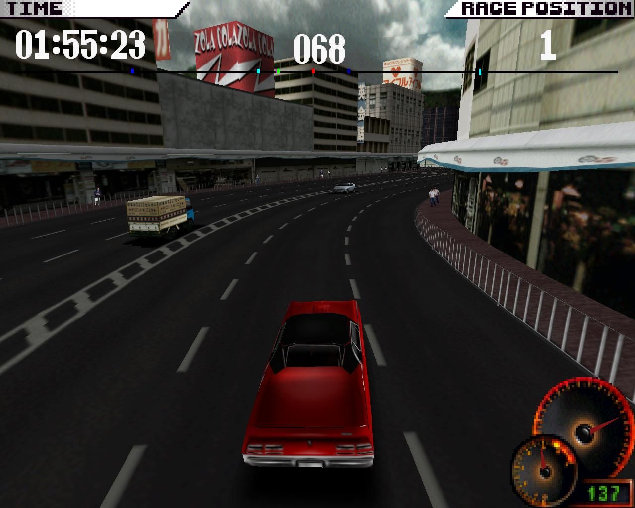 Test Drive 4 Windows Urban (3dfx Glide mode)