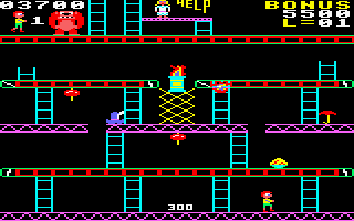 Killer Gorilla Amstrad CPC Next level.