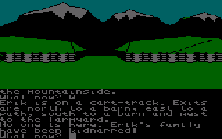 The Saga of Erik the Viking Amstrad CPC Your family have been kidnapped.