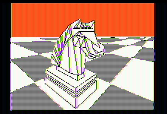 Colossus Chess 4 Apple II Intro picture