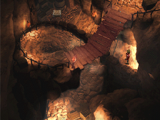 The Legend of Dragoon PlayStation Helena Prison, the first dungeon-like area you'll venture into