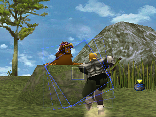 The Legend of Dragoon PlayStation Open-air battle. To inflict any kind of reasonable damage, you'll have to time those attacks for combos over and over again. Lavitz here is exercising