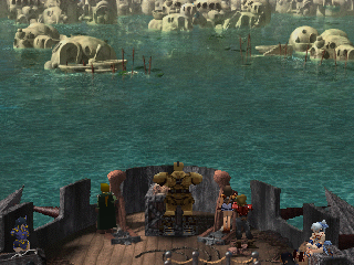 The Legend of Dragoon PlayStation Sailing towards new lands! We are about halfway through the game now