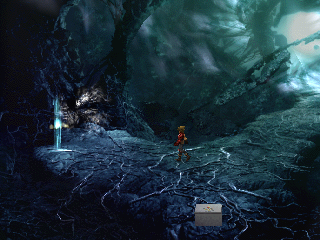 The Legend of Dragoon PlayStation Late-game dungeons have, as usually, a more abstract, cold feel...