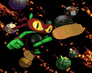 Zool Amiga Zool portrait (AGA version only)