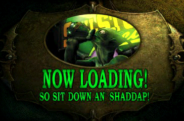 Oddworld: Abe's Exoddus PlayStation As always, even loading screens are funny in Oddworld games