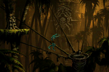 "Oddworld: Abe's Exoddus PlayStation Like the first game, the middle part of the sequel takes place in tribal, ""wild"", exotic natural environments"
