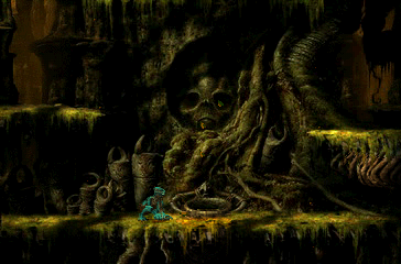 Oddworld: Abe's Exoddus PlayStation You made it to the roots of the giant tree. You crouch in awe