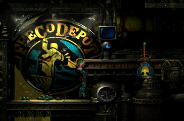 Oddworld: Abe's Exoddus PlayStation The second half of the game takes us back to grim, industrial, semi-sci-fi levels