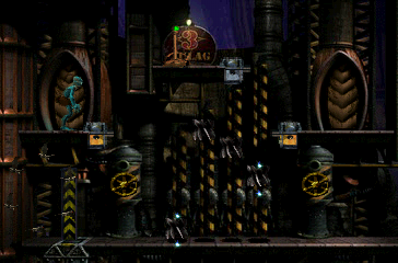 Oddworld: Abe's Exoddus PlayStation Oh, my... classical platforming elements prevail
