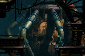 Oddworld: Abe's Exoddus PlayStation One of the last levels. Are you ready for the final challenge, Abe?..