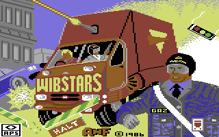 Wibstars Commodore 64 Loading Screen.
