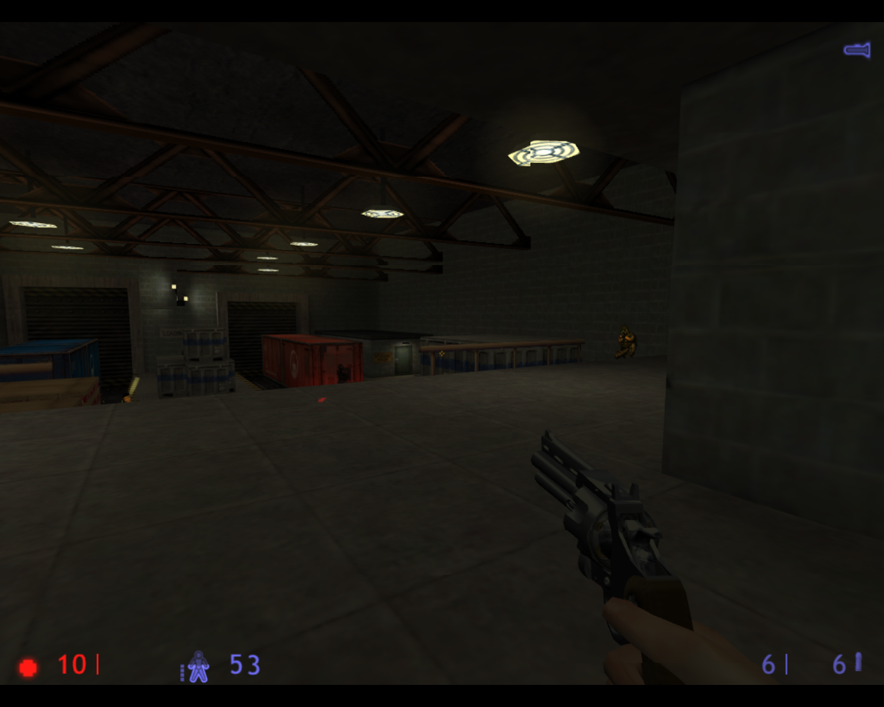 Half-Life: Blue Shift Linux And you thought the Army was here for your protection.