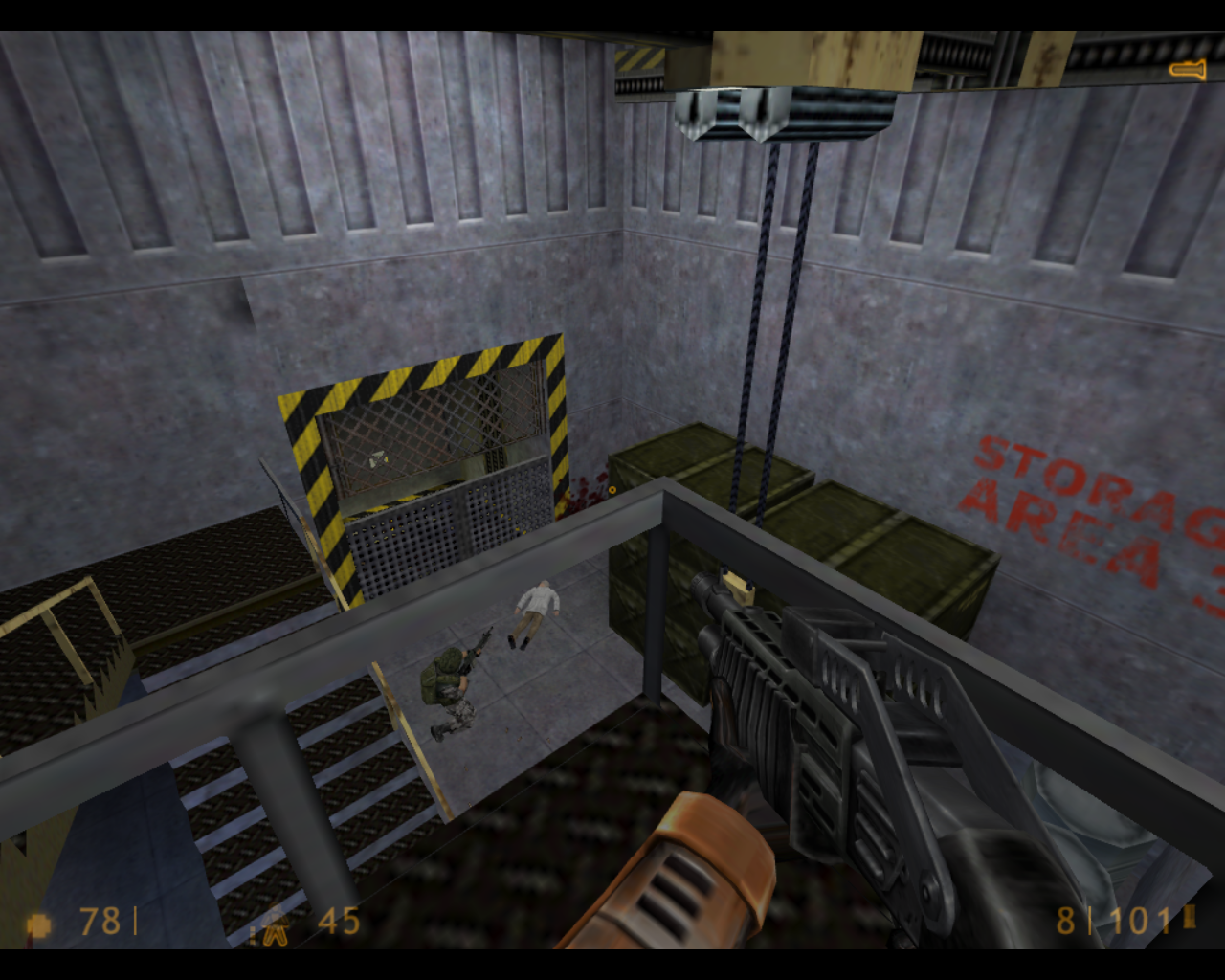 Half-Life Linux And you thought your Army would defend you.