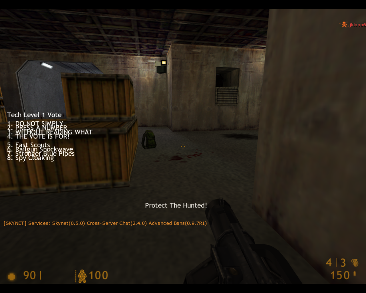 Team Fortress Classic Linux Starting out
